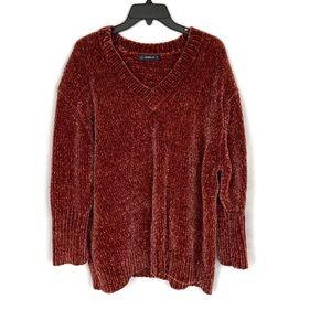 Zara Knit Chunky Oversized Cozy Sweater